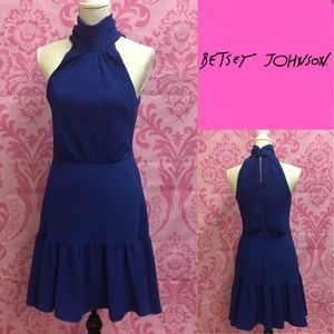 Royal blue Betsey Johnson Dress sz4